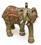 Batalla elephant2 Fotografía de archivo libre de regalías
