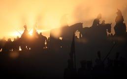 Batalla en Austerlitz 2009 Imagen de archivo libre de regalías