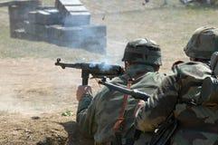 Batalla en Orechov Imagenes de archivo