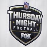 Batalla final de la bahía en fútbol del Fox el jueves por la noche imágenes de archivo libres de regalías