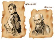 Batallas históricas: Waterloo Fotografía de archivo libre de regalías