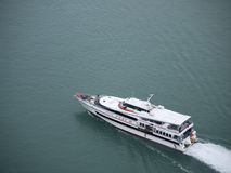 Batam Ferry (Aerial View) Stock Photos