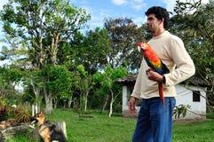 Batan Fundation - San Agustin - COLOMBIA. Fundacion Batan in SAN AGUSTIN. Department of Huila. COLOMBIA Stock Photos