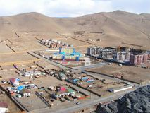 batar mongolia ulan sikt Arkivbild