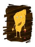 Batata Chips Character Foto de Stock Royalty Free