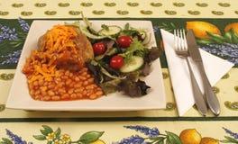 Batata com manteiga Foto de Stock Royalty Free