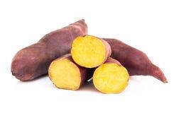 Batata czyrak odizolowywający na białym tle, karmowy zdrowej diety pojęcie zdjęcia stock