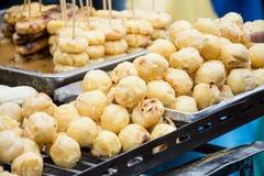 Batata doce da grade, sobremesa tailandesa Imagem de Stock