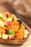 Batata doce e salada de Apple Fotografia de Stock Royalty Free