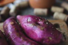 Batata doce no fim Foto de Stock