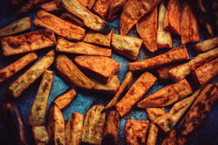 Batata doce Roasted foto de stock