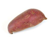 'batata doce' vermelho no fundo branco Fotografia de Stock Royalty Free