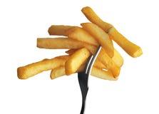 Batata fritada Fotografia de Stock