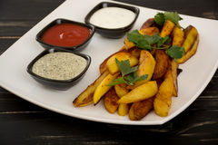 Batata fritada Imagem de Stock