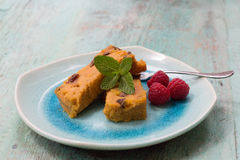 Batata pudding Obrazy Stock