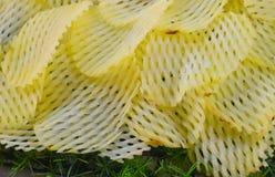A batata remenda a fotografia crua do fundo dos ingredientes de alimento Imagens de Stock