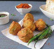 Batata Vada Royalty Free Stock Photography