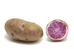 Batatas azuis Imagem de Stock Royalty Free