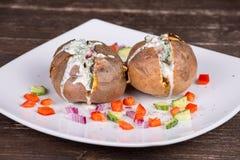Batatas cozidas Foto de Stock Royalty Free