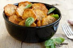 Batatas cozidas picantes fotografia de stock