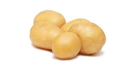 Batatas cruas Foto de Stock Royalty Free