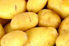 Batatas cruas Fotos de Stock Royalty Free