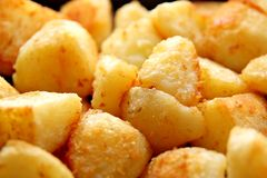 Batatas Crunchy do assado Foto de Stock Royalty Free