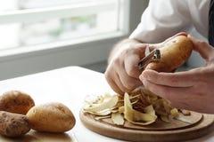 Batatas da casca fotos de stock royalty free