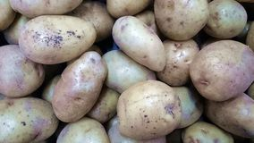 Batatas da mercearia foto de stock royalty free