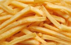 Batatas de fritadas francesas Imagem de Stock Royalty Free