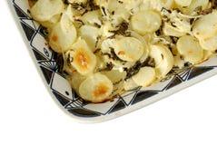 Batatas do gratin do Au Fotografia de Stock