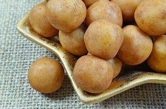 Batatas do maçapão fotografia de stock
