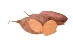 Batatas doces Fotos de Stock Royalty Free