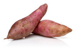 Batatas doces orgânicas Foto de Stock Royalty Free