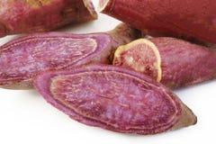 Batatas doces roxas Imagens de Stock
