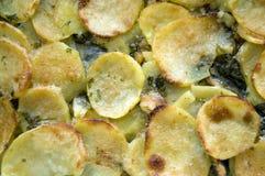 Batatas dos peixes de bacalhau Fotografia de Stock Royalty Free