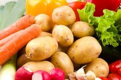 Batatas e outros vegetais Imagem de Stock Royalty Free