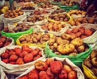 Batatas em Equador Imagem de Stock