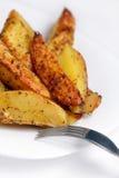 Batatas fritadas Fotos de Stock