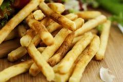 Batatas fritas Fotos de Stock Royalty Free