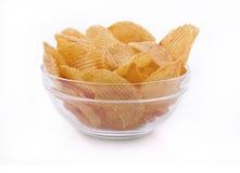 Batatas fritas da batata Fotografia de Stock Royalty Free
