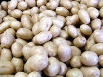 Batatas no mercado imagem de stock