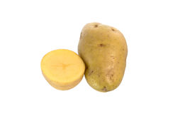 Batatas rachadas Imagens de Stock Royalty Free