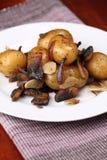 Batatas Roasted Imagens de Stock Royalty Free