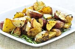 Batatas Roasted Imagens de Stock