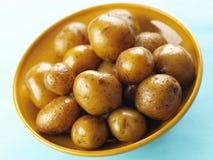Batatas Roasted do bebê fotos de stock royalty free