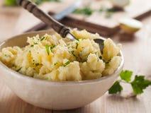 Batatas trituradas Foto de Stock Royalty Free
