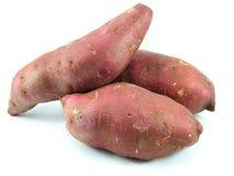 Batatas vermelhas doces Fotos de Stock Royalty Free