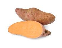 Bataten ((Ipomoea batatas) Stock Foto's