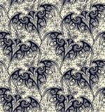batavia картина безшовная Черная картина шнурка Желтая предпосылка Стоковые Фото